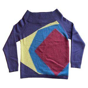 Burberry Prorsum Fall 2012 Purple Cashmere Sweater